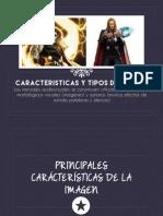 Características y tipo de imagen