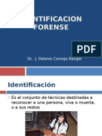 Identificacion Forense (IV)