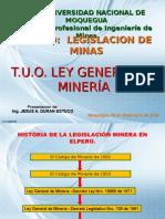 TUO Ley General de Mineria 01
