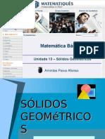 Matematica Unidade 17 - Geometria Espacial