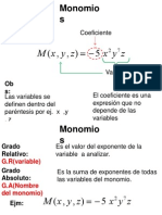 Polinomios 2012( 2da Clase)