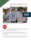 Israeli Exports Hit Hard by Palestinian Boycott, World Bank Says