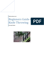 Basics of Knife Throwing