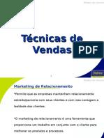 Apresentação - Marketing de Relacionamento - Treinamento Técnicas de Vendas