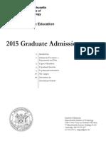 MIT Department Info
