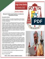 Mensaje Cardenal Urosa Sabino