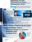 Space, Energy & Engineering the Future!