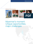 McKinsey Global Institute _ Myanmar's Moment - Unique Opportunities, Major Challenges _ 2013 May 30