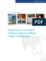 McKinsey Global Institute _ Myanmar's Moment - Unique Opportunities, Major Challenges _ 2013 May 30