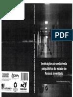 Instituiçoes Psiquiatricas Paraná