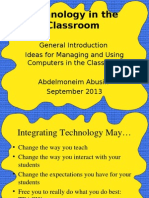 Technology in the Classroom.ppt