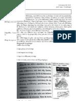 Un examen de Griego para alumnos de Athenaze (v. Miraglia)