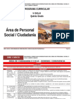 Personal Social 5º RUTAS