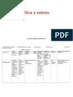Etica y Valores 2011, 3,4 y 5