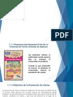 Unidad I Los Medios de Promoción de Venta a Nivel Fabricante.