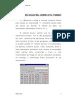 Conversion hexadecimal binario decimal