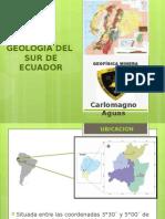 Geología Del Sur Del Ecuador-carlomagno