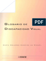 Glosario de Discapacidad Visual