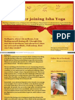 Life After Joining Ishayoga Blogspot in 2013 03 Sadhguru Whe