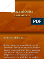 Inline and on Line Instruments