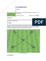 Ball Theft Soccer Dribbling Drill