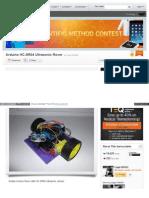 Www Instructables Com Id Arduino HC SR04 Ultrasonic Rover