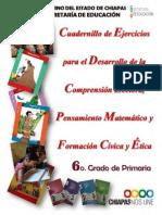 Cuadernillo de Ejercicos Comprensión Lectora Alumno