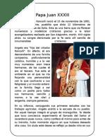 Papa Juan Xxxiii