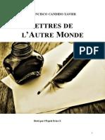 Francisco Candido Xavier Fr Lettres de l'Au Delà Yjsp