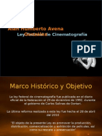 Ley Federal de Cinematografía
