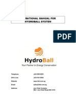 HydroBall Operational Manual