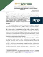 Logística Em Eventos - Estudo Da Logística Operacional Do Festival de Dança de Joinville-SC
