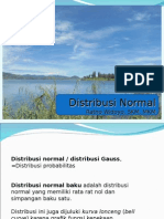 Biostat Inferensial - Distribusi Normal