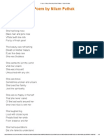 Fairy- A Story Poem by Nilam Pathak