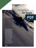 21497236 Estaciones Esqui Revista Oxigeno
