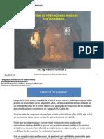 Gestion de Operaciones Mineras Subterraneas (Francisco Grimaldo)
