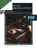 23287147 Simenon Georges El Hombre de Londres PDF
