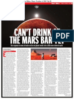 Can't Drink at the Mars Bar Yet
