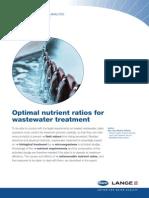 Wastewater Nutrient Ratio-HACH