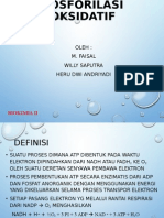 Fosforilasi Oksidatif