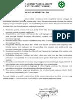 contoh kebijakan k3l perusahaan