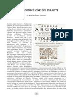 Andrea Argoli - Sulla Condizione Dei Pianeti