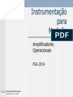 19 e 20 - Amplificadores Operacionais