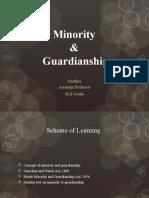 Minority & Guardianship