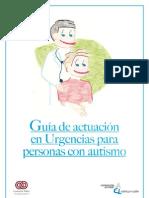 Guia de actuación en Urgencias para personas con autismo