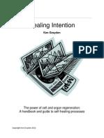 Healing Intention Book AP3