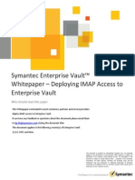 EV11 Whitepaper - Deploying IMAP Access to Enterprise Vault