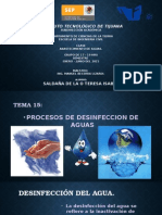 TEMA15-Procesos de Desinfeccion de Agua