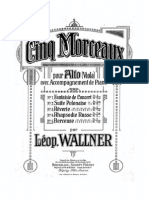 Wallner - Berceuse for Viola and Piano