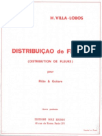 Villa-Lobos - Distribution de Fleurs (Flute Guitar)